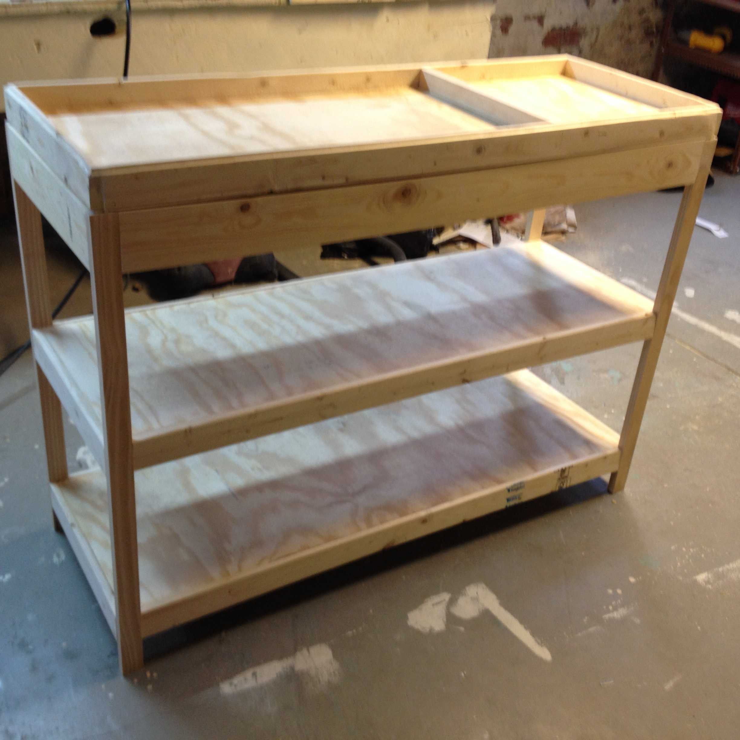 Building A Changing Table Frugal Living