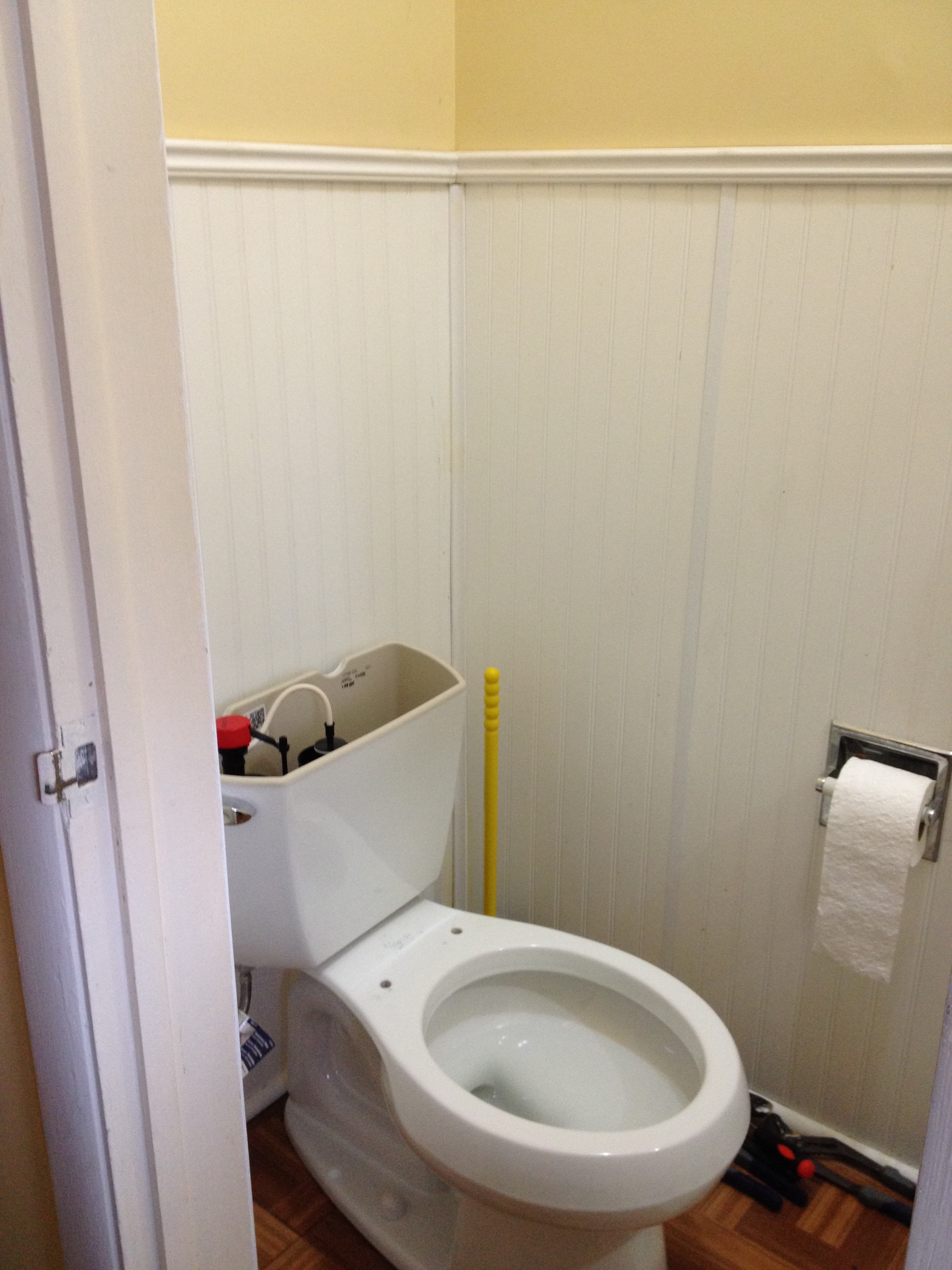 Installing New Watersense Toilets Part 2 Frugal Living