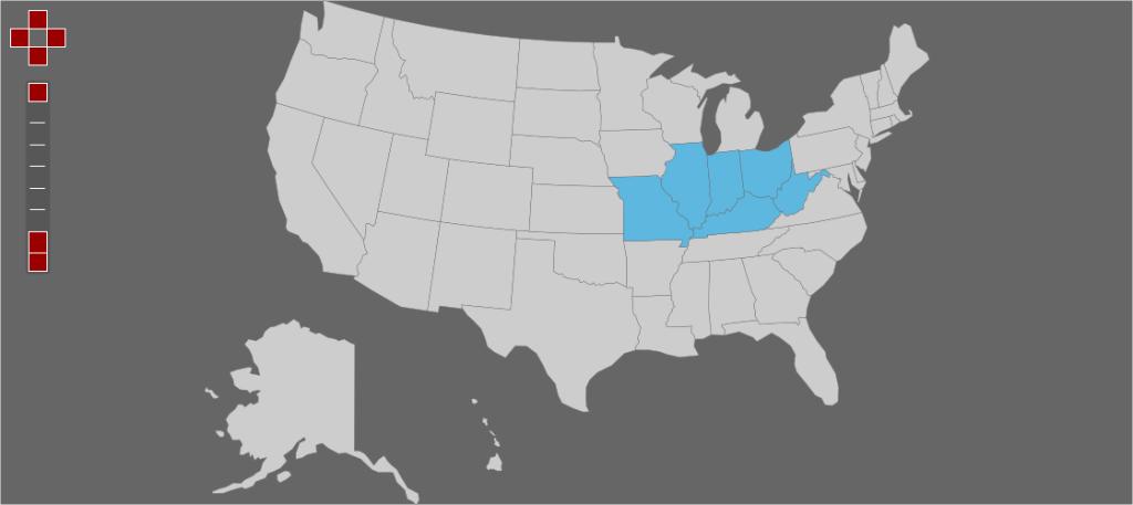 6 months, 6 states