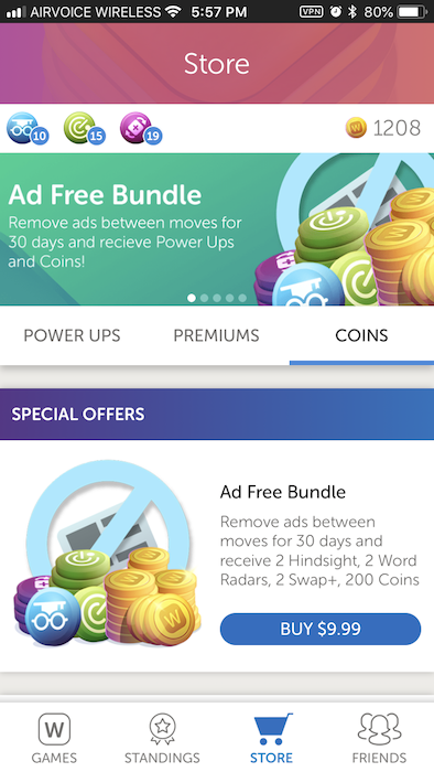 removing ads from words with friends permanently frugal living